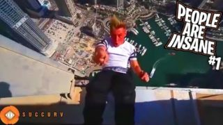People Are INSANE 2019 ULTIMATE Compilation – Jumping Off Buildings, Police Escapes, SCARY Parkour