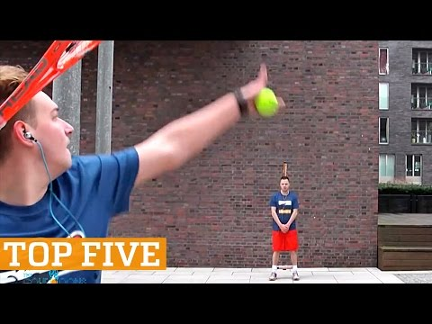 TOP FIVE: Best Trick Shots of 2016! | PEOPLE ARE AWESOME 2016
