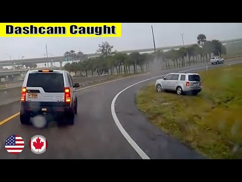 Ultimate North American Cars Driving Fails Compilation – 145 [Dash Cam Caught Video]